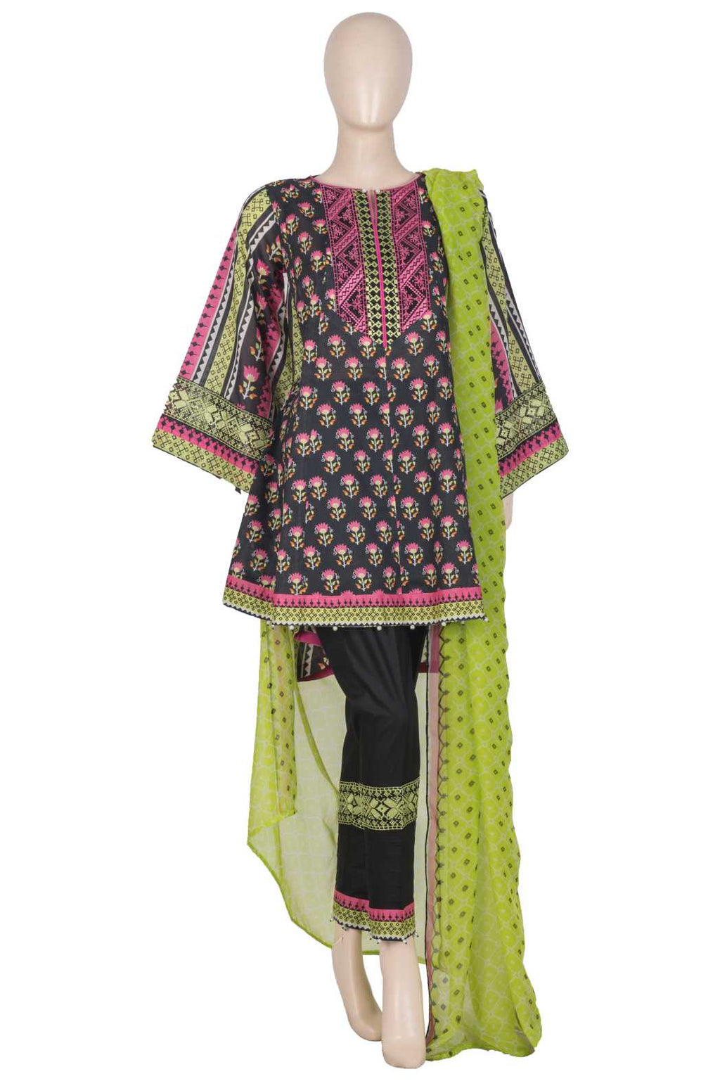 Women's Embroidered 3PC Suit