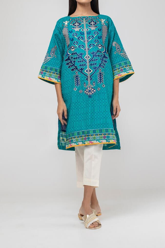 KETPE-K18407 Embroidered Kurti