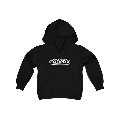 Youth Karate Atlanta Script Hooded Sweatshirt