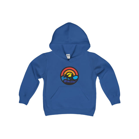 Kids BATTLE ON THE BEACH Hooded Sweatshirt
