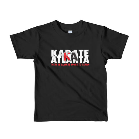 "2- 6yrs Youth KA ""Always More To Learn"" T-shirt"