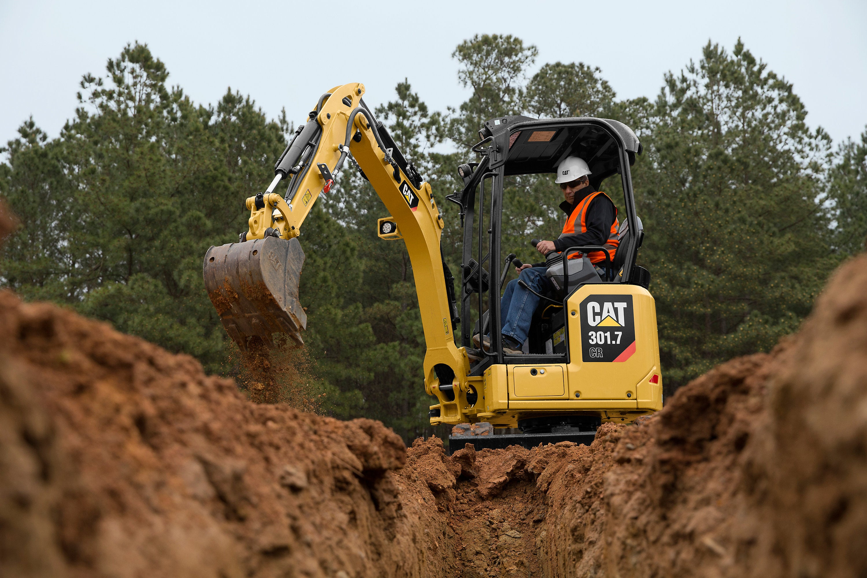 CAT 301.7 CR Mini Excavator Digger