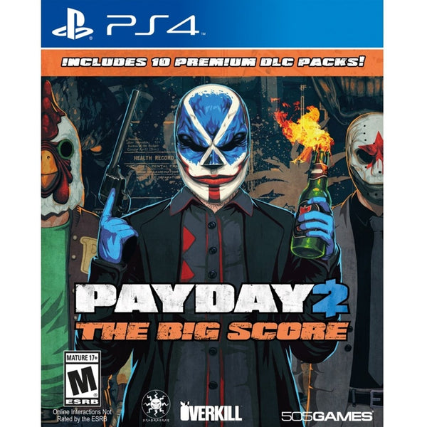 "Payday 2 The Big Score For PlayStation 4  ""Region 1"""