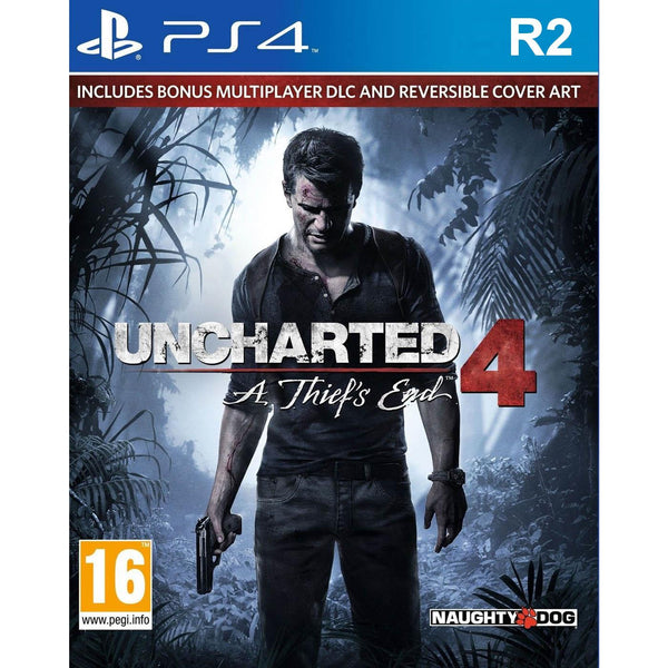 "Uncharted 4 A Thief's End For PlayStation 4 ""Region 2"""