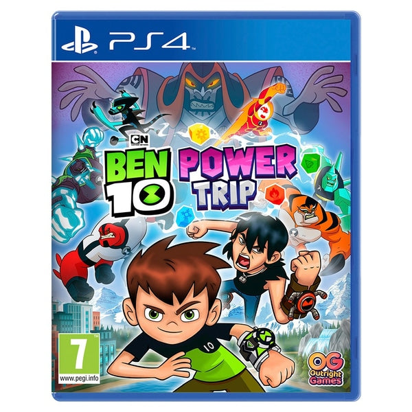 "Ben 10 Power Trip For PlayStation 4 ""Region 2"""