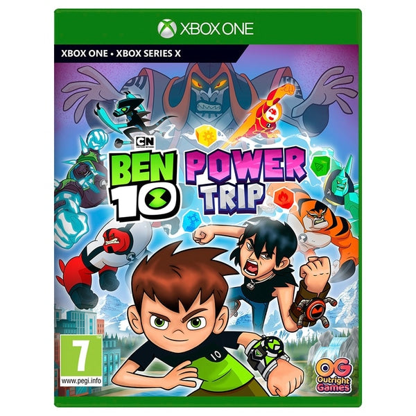 "Ben 10 Power Trip For Xbox One ""Region 2"""
