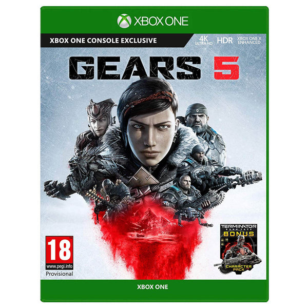 "Gears 5 Standard Edition For Xbox One Exclusive ""Region 2"""
