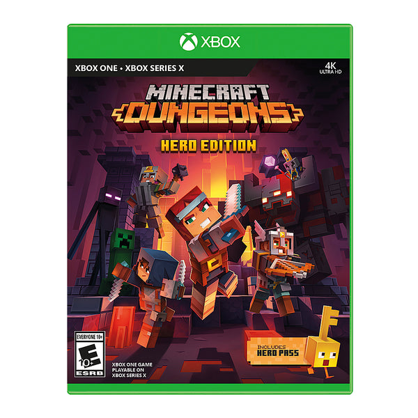 "Minecraft Dungeons Hero Edition For Xbox One ""Region 1"""
