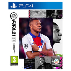 "FIFA 21 Champion Edition For PLayStation 4 ""Region 2 Arabic version"""