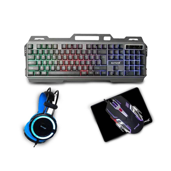 GAMAX CP-02 Gaming Series Combo 4 in 1