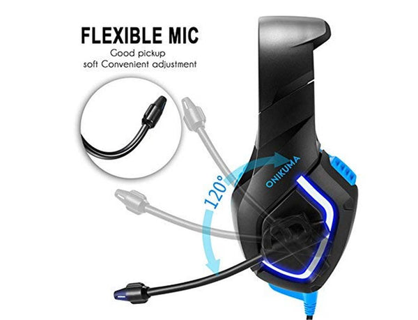 Onikuma K1 Stereo Over-Ear Noise Isolation Gaming Headset