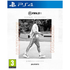 "FIFA 21 Ultimate Edition  For PlayStation 4 ""Region 2 Arabic version"""