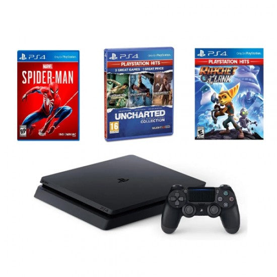 Sony PlayStation 4 500GB + 5 Games