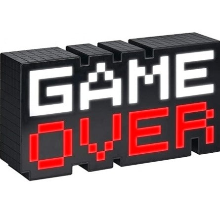 8-Bit Game Over Sound Reactive Light