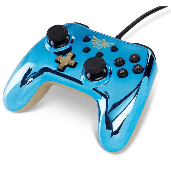 Wired Controller for Nintendo Switch - Chrome Zelda