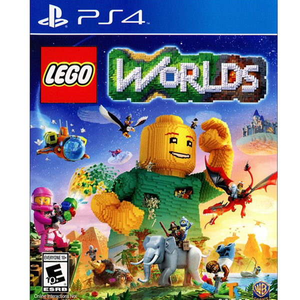 "Lego Worlds Game For PlayStation 4 ""Region 1"""
