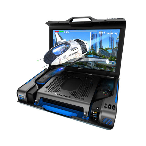 "Gaems Guardian 24"" WQHD Personal Gaming Monitor"