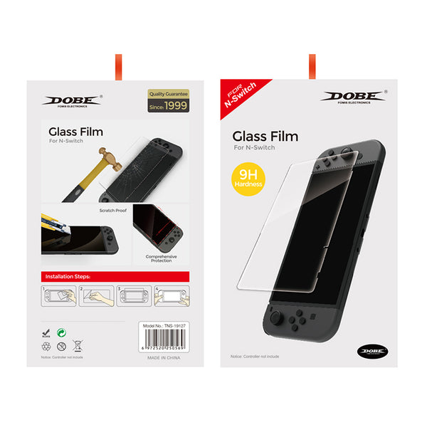 Dobe Glass film Screen Protector For Nintendo Switch