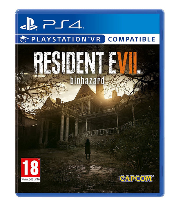 "Resident Evil 7 Biohazard For PlayStation 4 VR ""Region 2"""