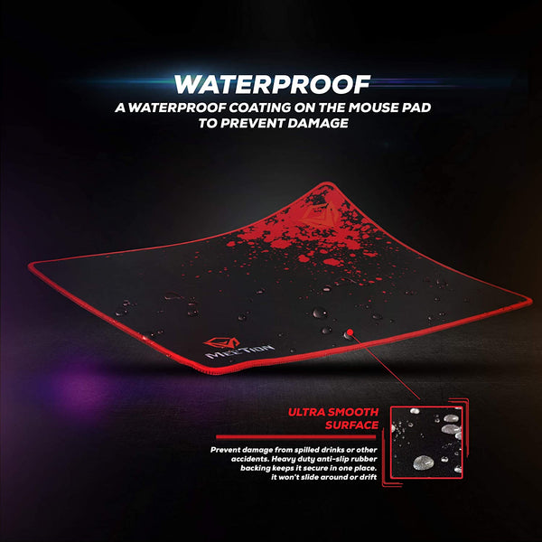 Meetion Non-slip Rubber Square Mouse Pad P110