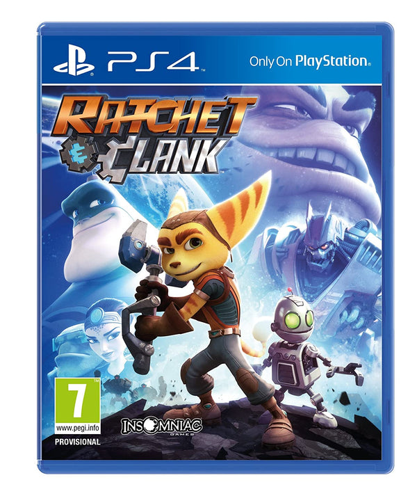 "Ratchet & Clank Game For PlayStation 4 ""Region 2"""