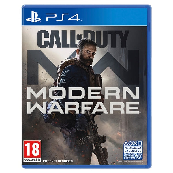 "Call of Duty Modern Warfare R2 Arabic For PS4 ""Region 2"""