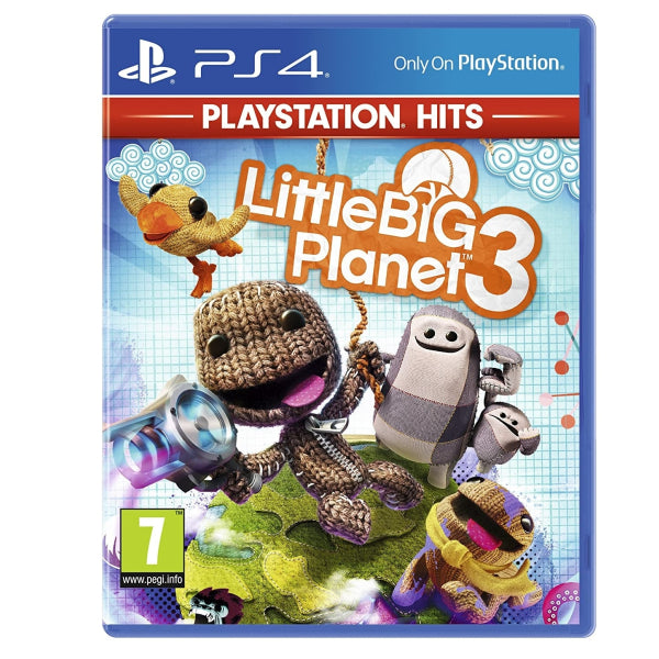 "LittleBig Planet 3 For PlayStation 4  ""Region 2"""