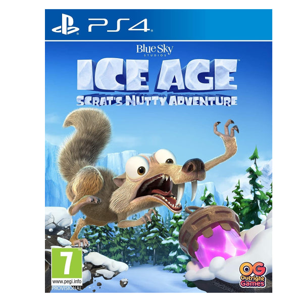 "Ice Age Scart's Nutty Adventure For PlayStation 4 ""Region 2"""