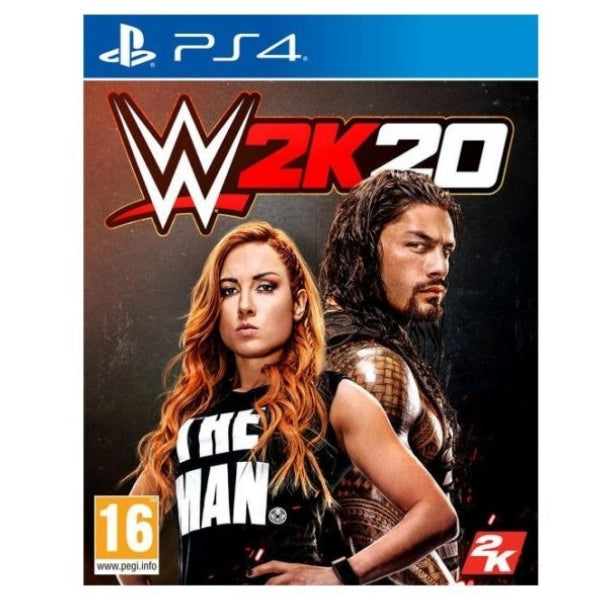 "W2K20 Game For PlayStation 4  ""Region 2"""