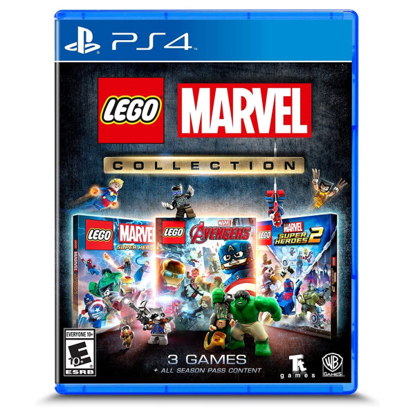 "Lego Marvel Collection For PlayStation 4 ""Region 1"""
