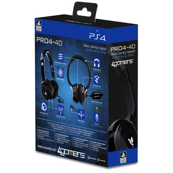 PRO4-40 Stereo Gaming Headset For PS4 Gamers