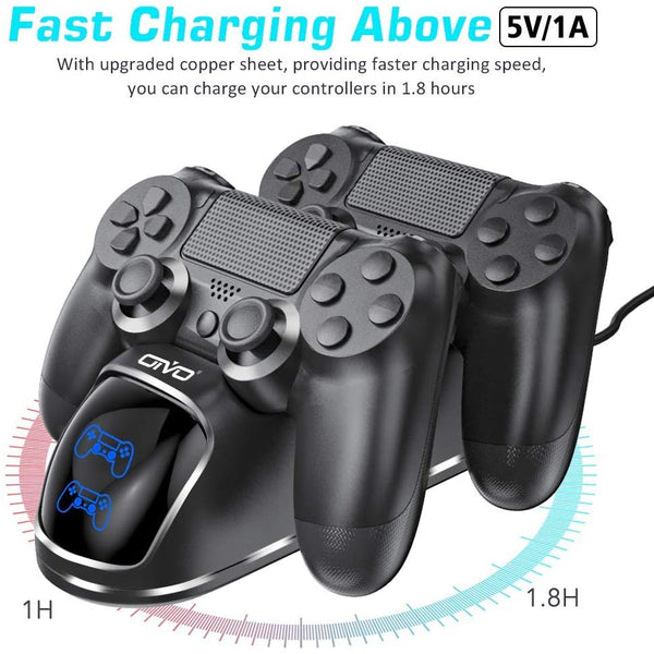 OIVO Dual Charging Dock For PlayStation 4