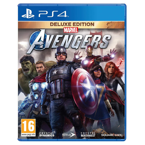 "Marvel's Avengers Deluxe Edition For PlayStation 4 ""Region 2"""