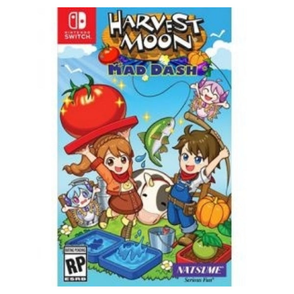 "Harvest Moon Mad Dash For Nintendo Switch ""Region1"""