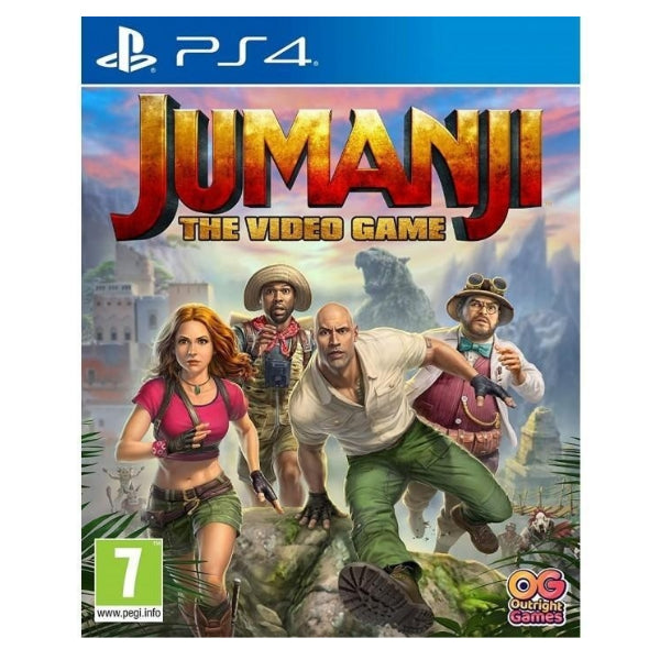 "JUMANJI The Video Game R2 For PlayStation 4 ""Region 2"""