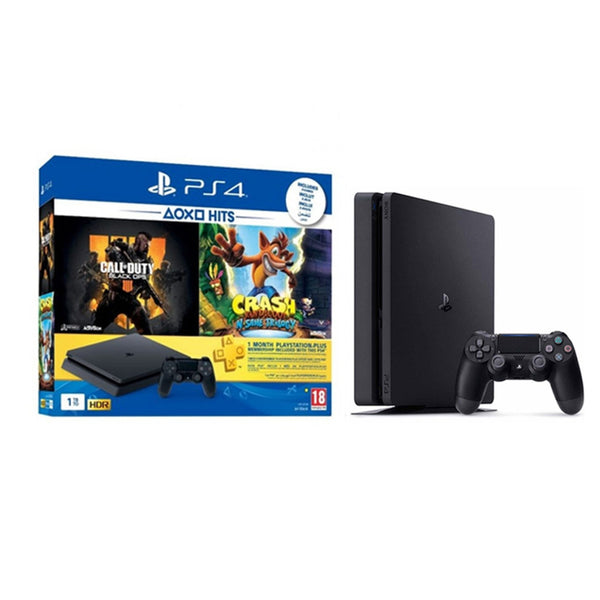 Sony PlayStation 4 Slim 1TB  Crash Bundle Console