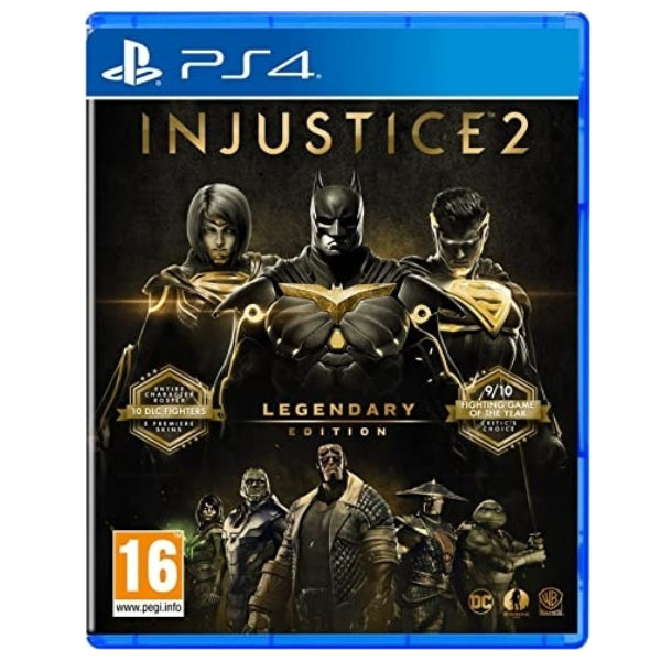 "Injustice 2 Legendary Edition Game For PlayStation 4 ""Region 2"""