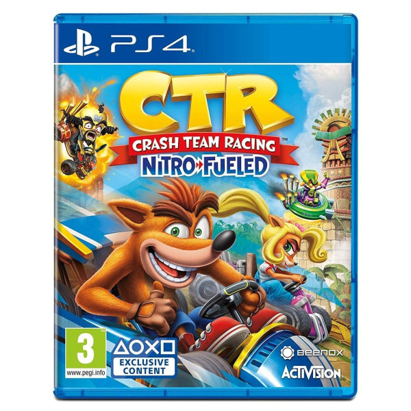 Crash Team Racing Nitro Fueled For PS4