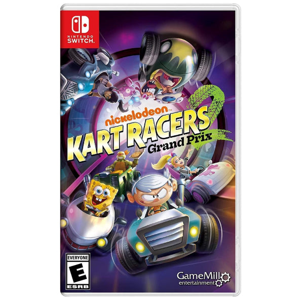 "Nickelodeon Kart Racers 2 Grand Prix For N.S Standard Edition ""Region 1"""
