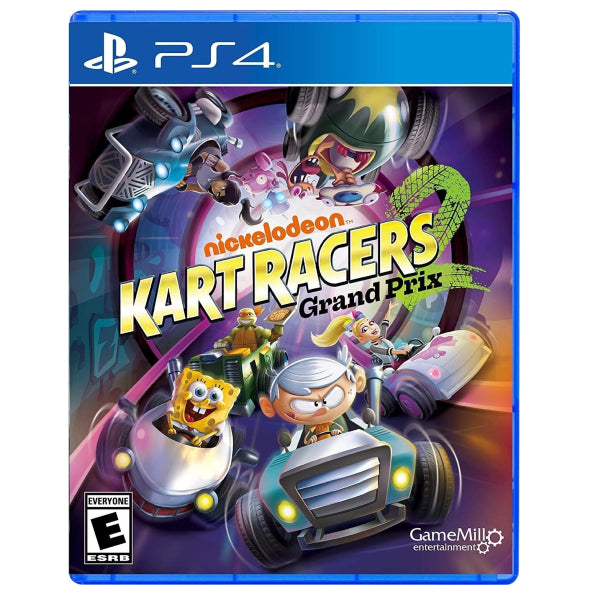"Nickelodeon Kart Racers 2 Grand Prix For PS4 Standard Edition ""Region 1"""