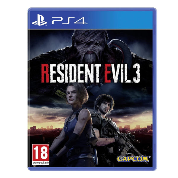 "Resident Evil 3 For PlayStation 4  ""Region 2"""