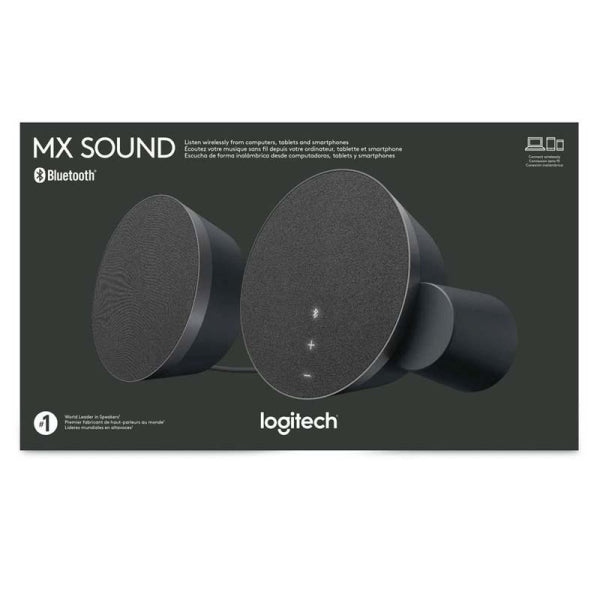 Logitech MX Sound 2.0 Multi Device Stereo Speakers