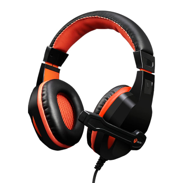 Meetion Noise-canceling Stereo Leather Wired Gaming Headset with Mic HP010