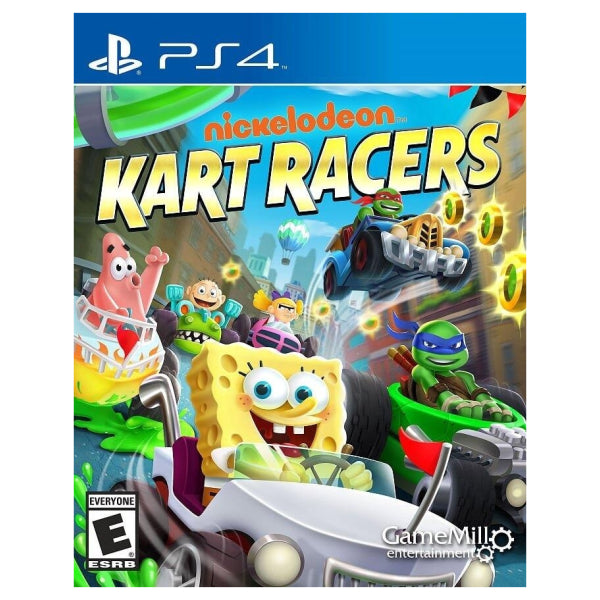 "Nickelodeon Kart Racers For PlayStation 4 ""Region 1"""