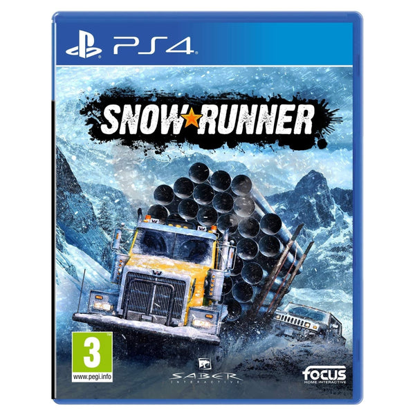 "Snow Runner For PlayStation 4  ""Region 2"""