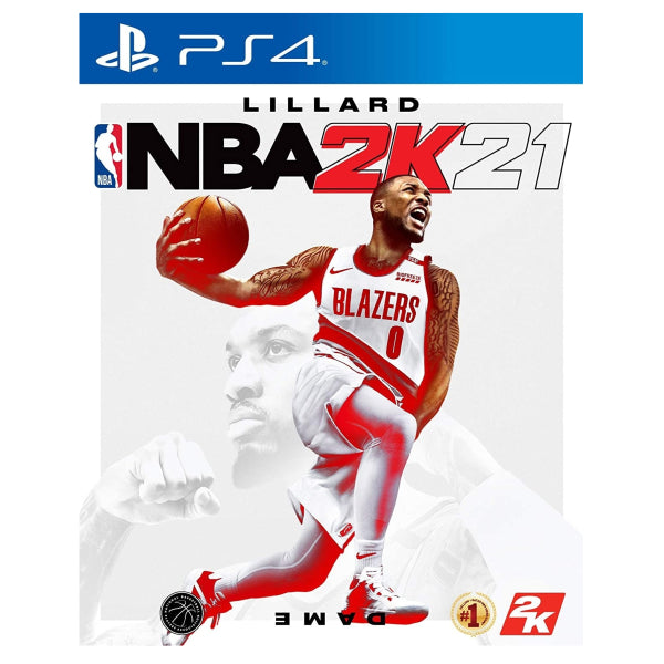 "Lillard NBA 2K21 For Playstation 4 ""Region 2"""