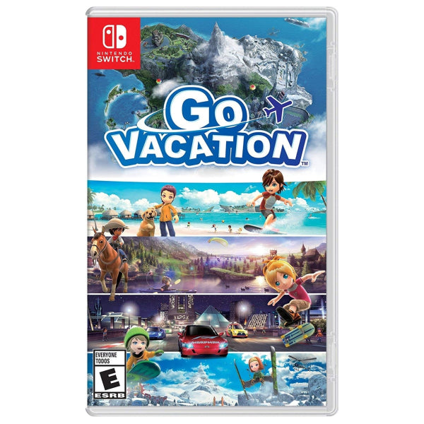 "Go Vacation For Nintendo Switch ""Region 1"""