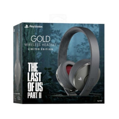 Gold HeadSet The Last Of Us Limited Edition
