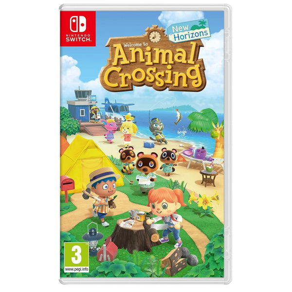 "Animal Crossing New Horizons For Nintendo Switch ""Region 2"""