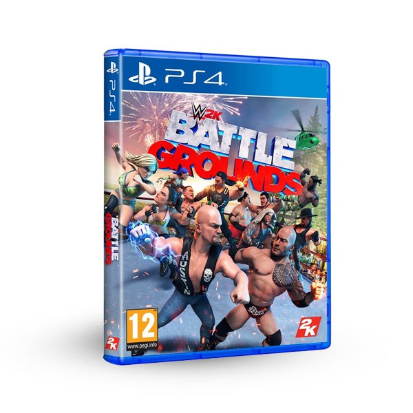 "WWE 2K Battlegrounds For PlayStation 4 ""Region 2"""